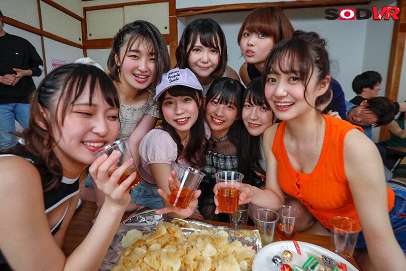 【VR】【今年最大級大乱交VR】ヤリサー合宿旅行 12名の女子大生と4時間30分ハメざかりSP 5