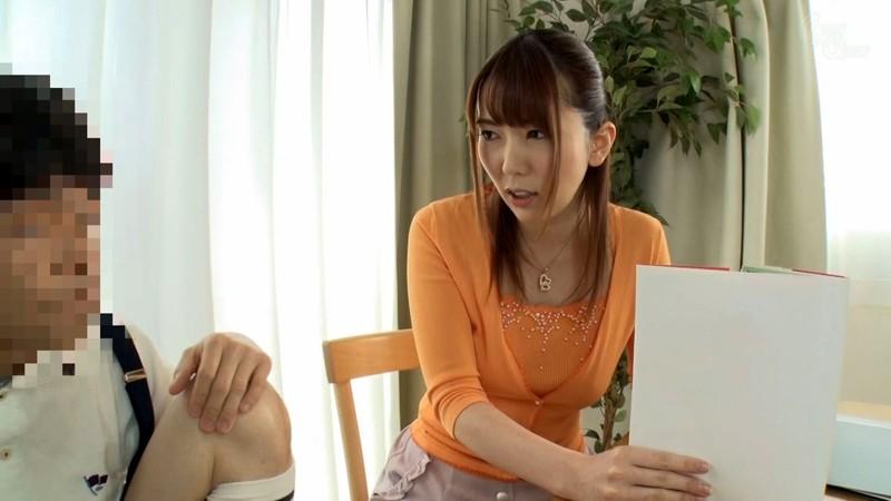 教え子のチ●ポに欲情するシ●タコン女家庭教師 波多野結衣 キャプチャー画像 4枚目