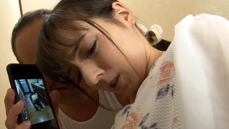 家庭内の至る場所で義父にアナルを仕込まれる美人嫁 西田カリナ