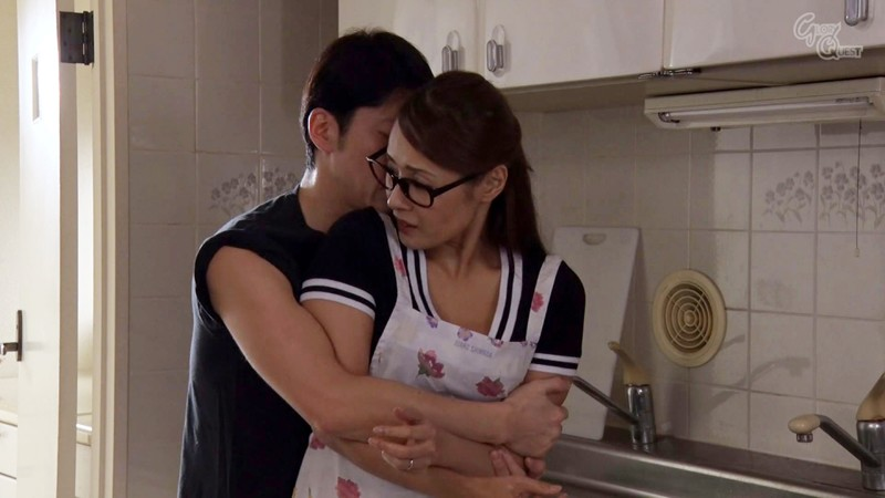 GVG-875 Studio GLORY QUEST - A Plain Jane Wife In Glasses Who Gets Anal Fucked By My Neighbor Mio Morishita big image 3