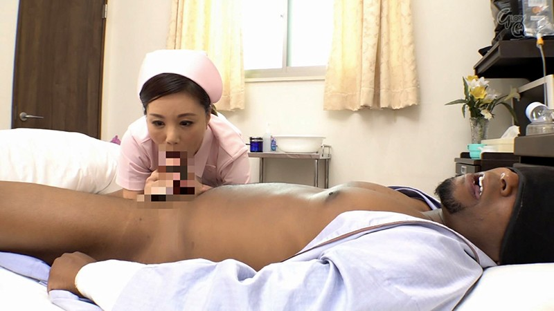 [GVG-979] I'm A Nurse Who craved of Black Dick In a Hospital ... Hitomi Katase