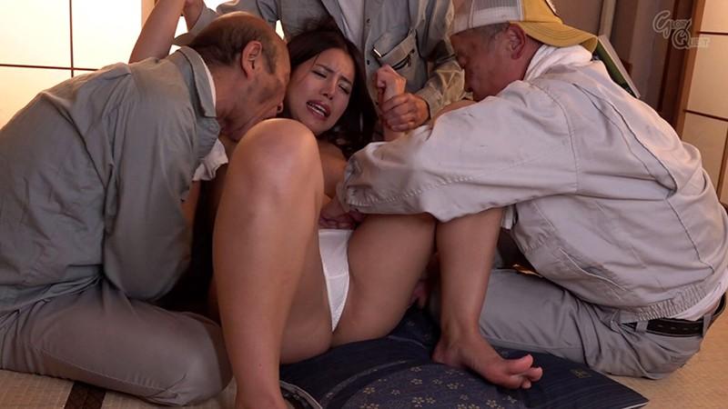 老働者に輪●され性奴●と化す巨乳未亡人 永井マリア 2枚目