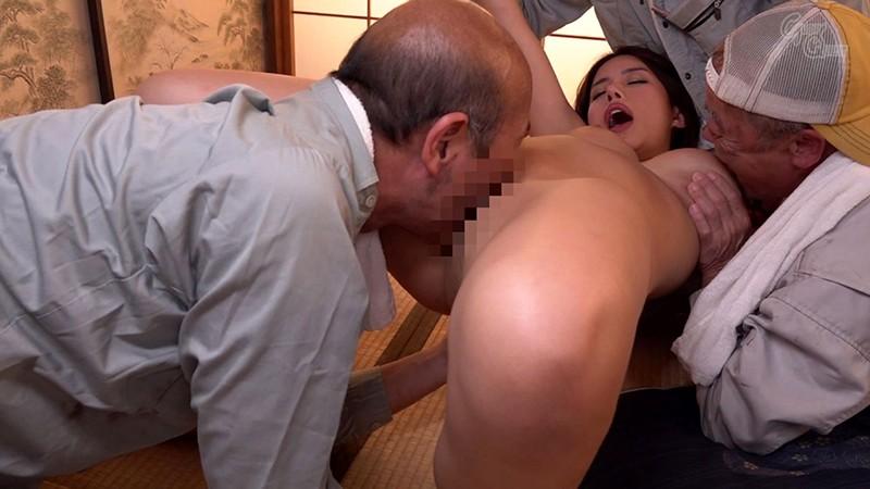 老働者に輪●され性奴●と化す巨乳未亡人 永井マリア 4枚目