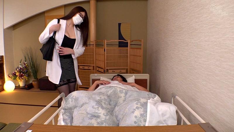 マンズリ大好き巨乳淫語女医 夕季ちとせ 画像3