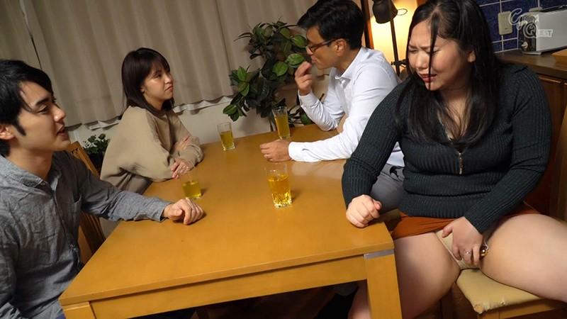 姑の卑猥過ぎる巨乳を狙う娘婿 徳島理子