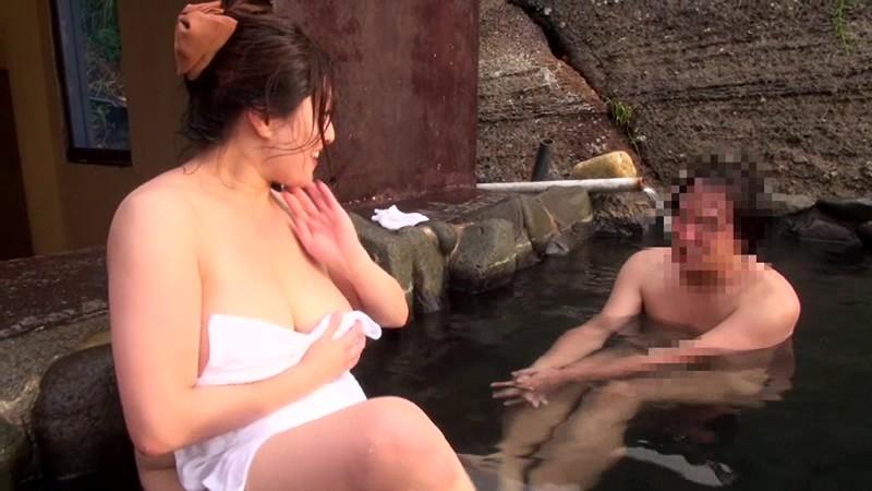 素人さんいらっしゃい!AV女優白鳥寿美礼と混浴露天温泉でHなことしませんか? 画像4