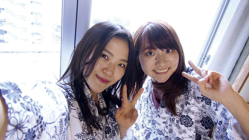 生撮 レズビアン温泉旅行09