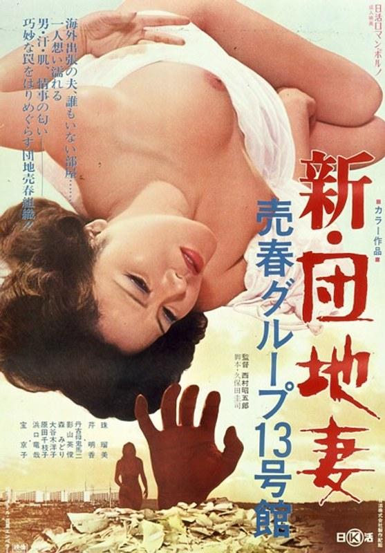 ピンク映画 ch、人妻、ドラマ、成人映画 新・団地妻売春グループ13号館