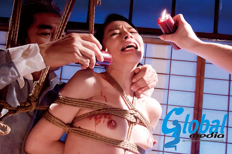 異常緊縛性交 縛られた女たち 縄と蝋燭の...
