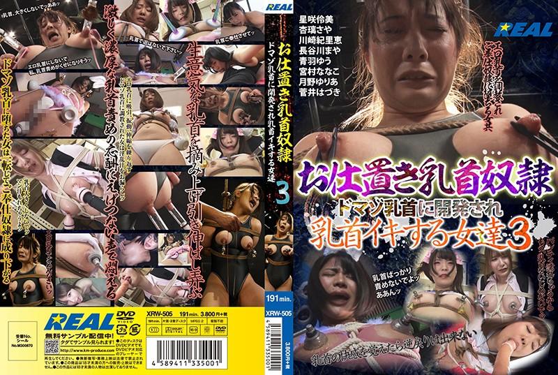 お仕置き乳首奴隷 ドマゾ乳首に開発され乳首イキする女達 3のパッケージ写真