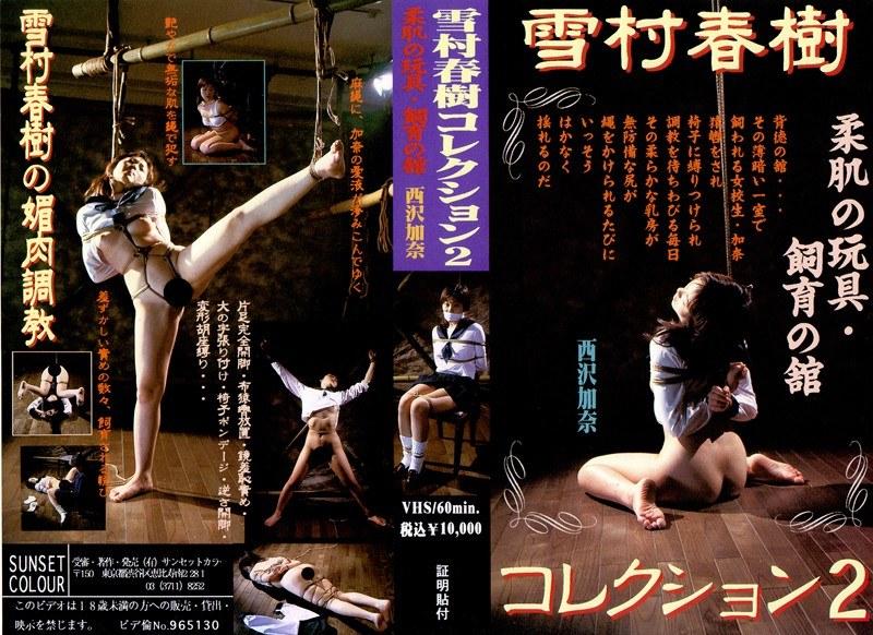雪村春樹コレクション2 柔肌の玩具・飼育の館 西沢加奈