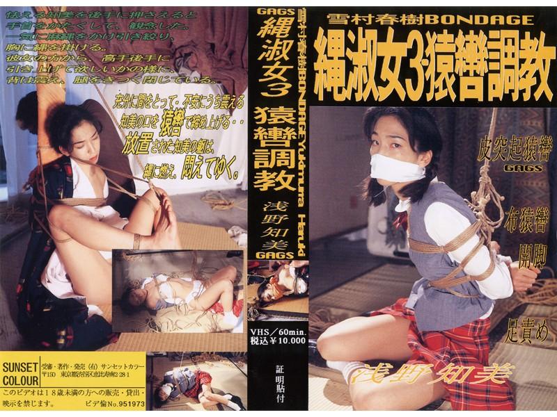 縄淑女3・猿轡調教 浅野知美 パッケージ