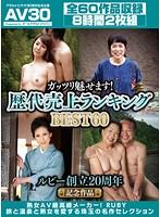 【AV30】ルビー創立20周年記念作品ガッツリ魅せます!歴代売上ランキングBEST60