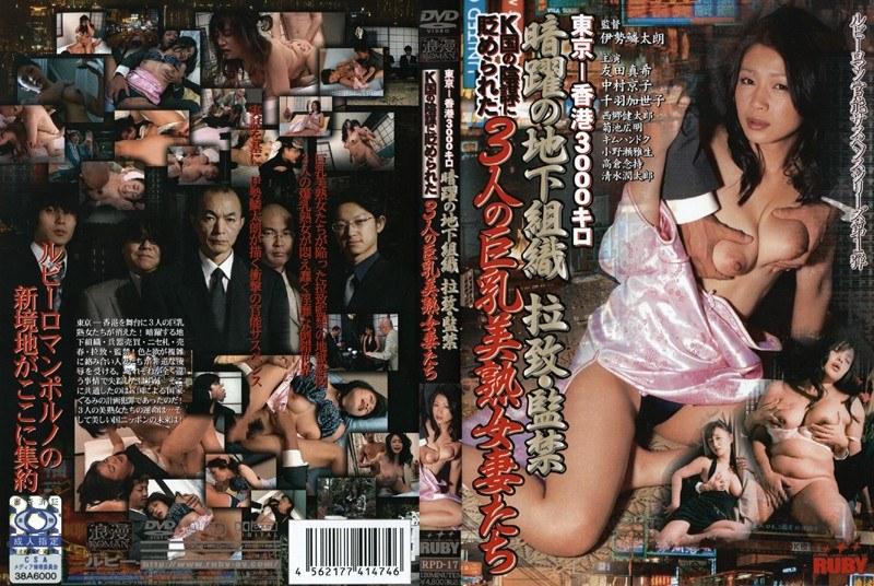 東京-香港3000キロ 暗躍の地下組織 拉致・監禁 K国の陰謀に貶められた3人の巨乳美熟女妻たち