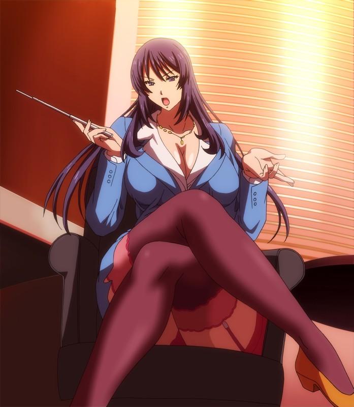OVA巨乳人妻女教師催●#1響子と美和のサンプル画像3