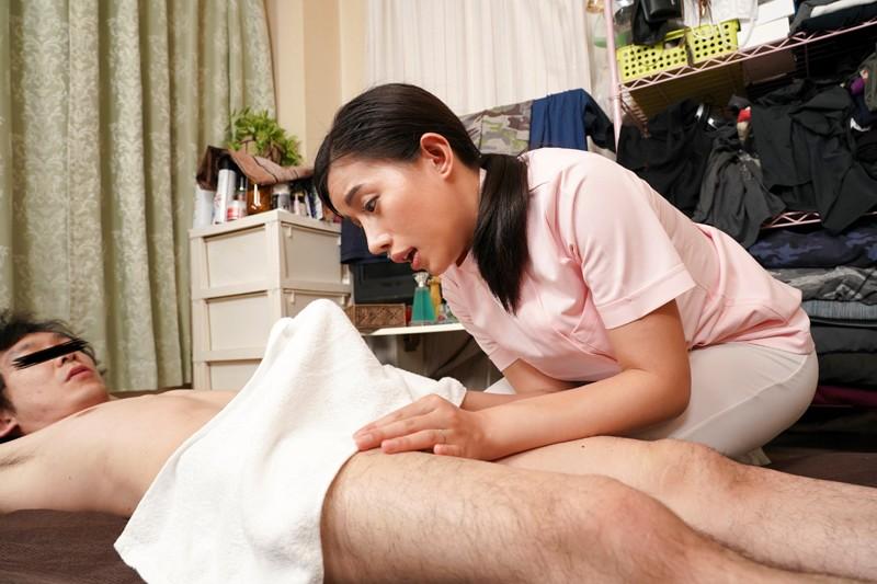 一度知ったらクセになる『おしゃべり性交』!!勃起チ○ポを見せたら即ヤれる出張マッサージ師は常にセックス実況しながら感じまくる爆乳絶倫妻 まりあさん28歳 永井マリア 3枚目