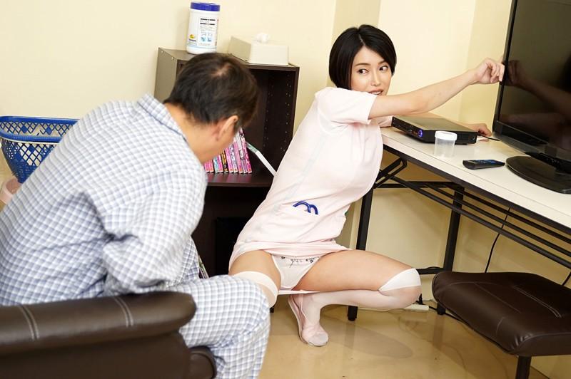 採精室に入ったら精子20ml溜まるまで解放してくれないチ○ポ大好き性欲モンスター看護師と2人きり