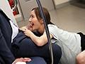 最終電車で痴女とまさかの2人きり!向かいの座席でパンチラし...sample6