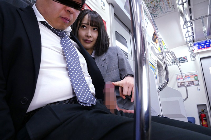 最終電車で痴女とまさかの2人きり!J○Ver向かいの座席でパンチラしてくる小悪魔女子○生の誘惑で勃起したらヤられた4