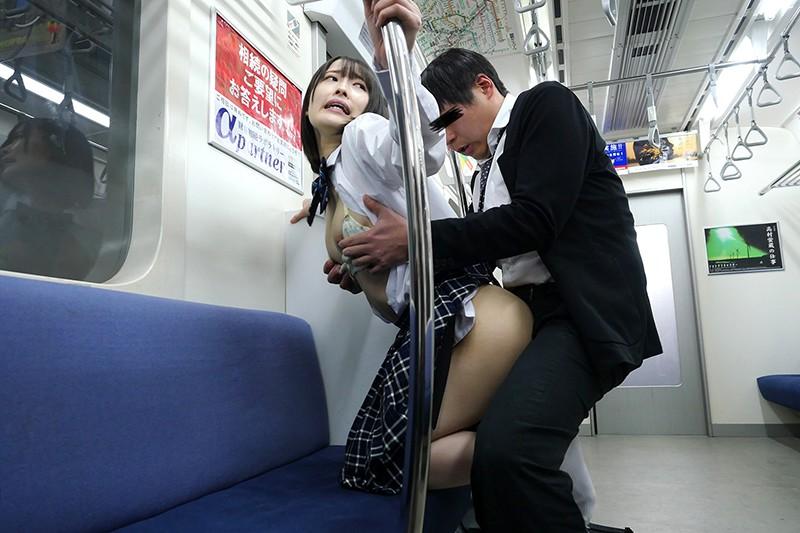 最終電車で痴女とまさかの2人きり!J○Ver向かいの座席でパンチラしてくる小悪魔女子○生の誘惑で勃起したらヤられた7