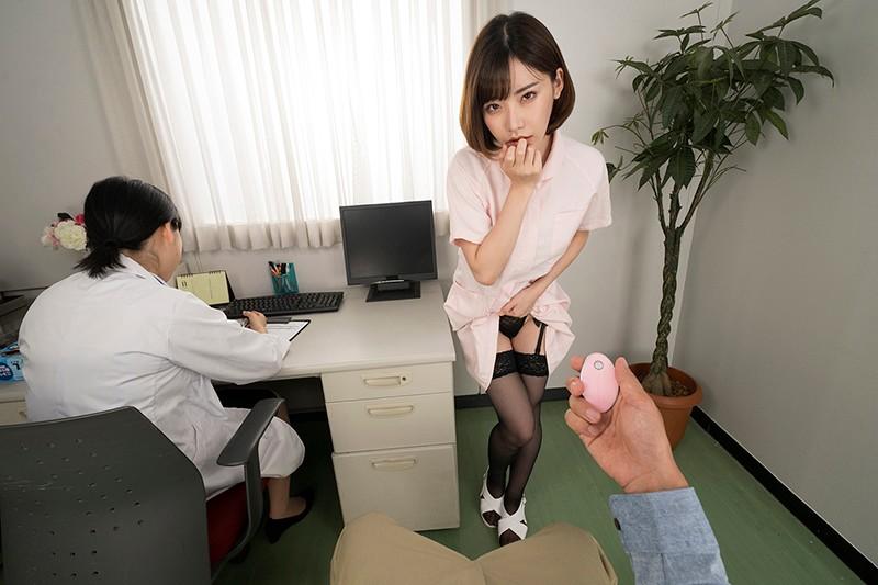 【深田えいみ・VR】現役AV女優看護師が精液検査を凄テクで 手伝ってくれた◆