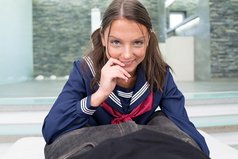 謎のパイパンお嬢様 ナディア18歳 AVデビュー+1作品4