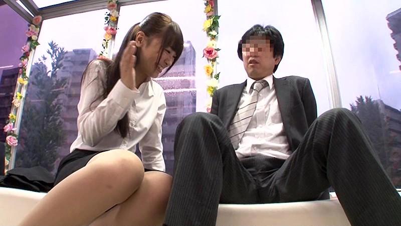 【マジックミラー号】スーツ姿の激カワS級美少女な新人OLと上司がお金につられて理性崩壊してイチャイチャ密着セックスしちゃう♡in池袋