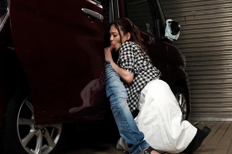 【自宅密会】 車庫不倫する俺の嫁のサンプル画像