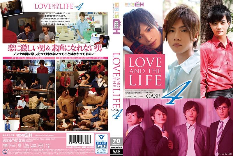 LOVE AND THE LIFE CASE.4 イケメンAV男優動画/エロ画像