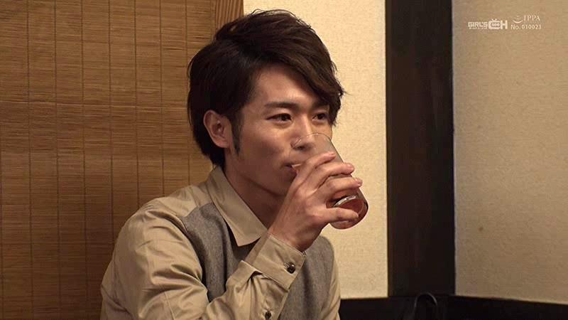 「俺を酔わせてどうするの?」 北野翔太-1 イケメンAV男優動画/エロ画像