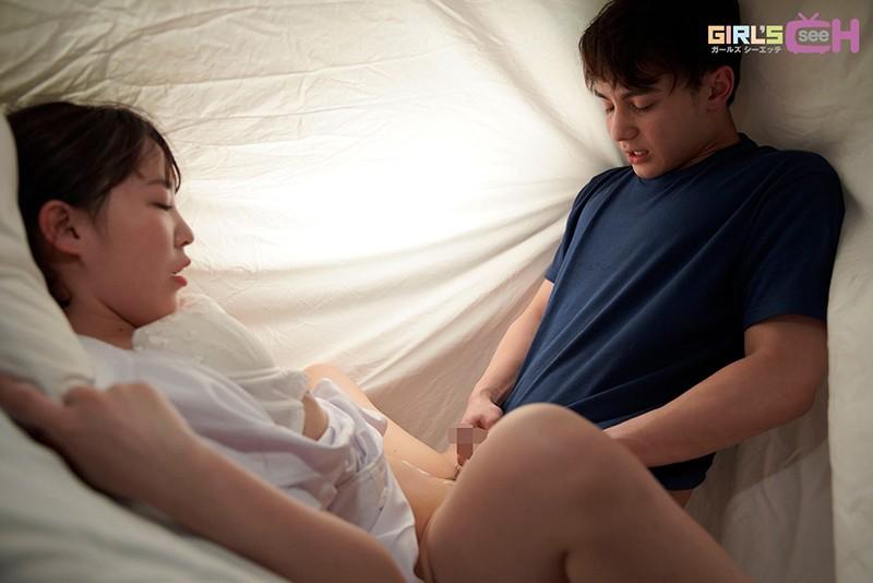 興奮した彼と深夜の病室の布団の中でこっそり… ~密着◆密室◆トロ濡れエッチ~ 笹本みほ-17 イケメンAV男優動画/エロ画像