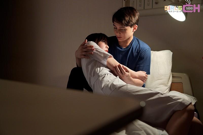 興奮した彼と深夜の病室の布団の中でこっそり… ~密着◆密室◆トロ濡れエッチ~ 笹本みほ-2 イケメンAV男優動画/エロ画像