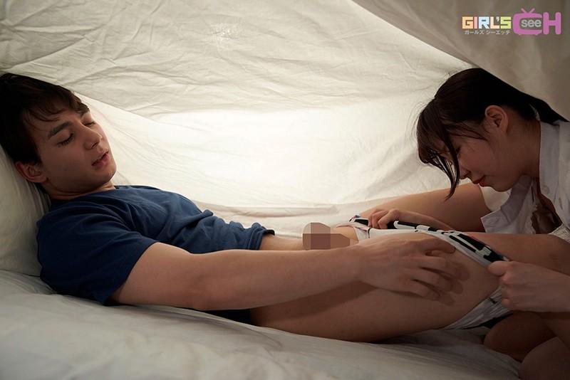 興奮した彼と深夜の病室の布団の中でこっそり… ~密着◆密室◆トロ濡れエッチ~ 笹本みほ-9 イケメンAV男優動画/エロ画像