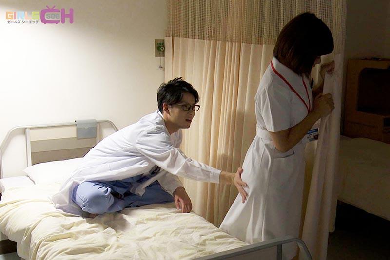 ドスケベ医師とビンカン看護師が夜勤中に病室でこっそり何度も… 画像3