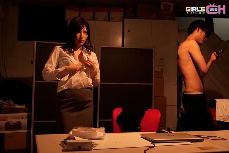 ずぶ濡れオフィスLOVE ~ゲリラ豪雨の夜に気になる同僚と会社で2人きり…もう我慢できない…~ 早川瑞希-2 イケメンAV男優動画/エロ画像