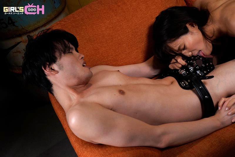 1か月禁欲した長瀬広臣と真木今日子が貞操帯をはずしたら 何度イっても止まらない!快楽貪りあいオーガズムSEX 画像5