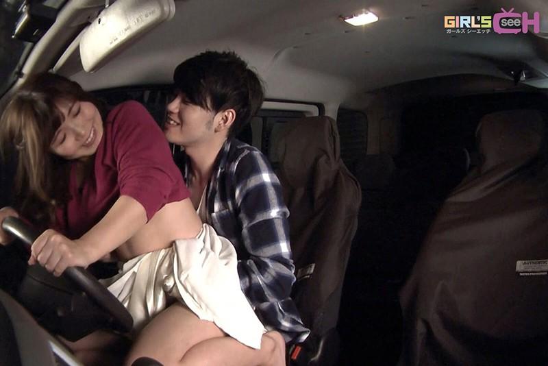 カーセックス ~車の中、密着体位で何度もイッちゃう 長瀬広臣×美泉咲~ 画像12