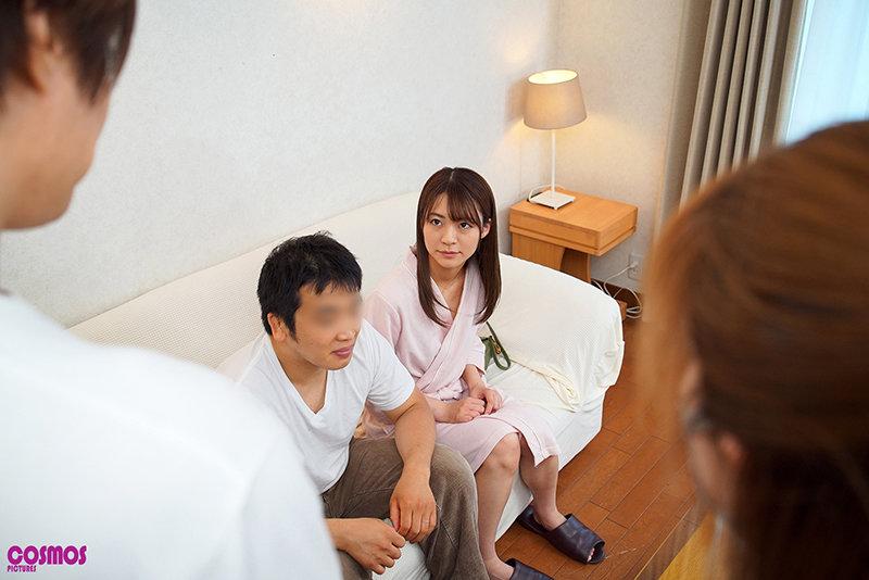 寝取らせ検証『夫婦のセックスを記念に残すはずが代役との疑似SEXに…』プライベートAV制作で他人棒をオマ○コに擦られ続けた妻はその後浮気してしまうのか?VOL.6 画像3