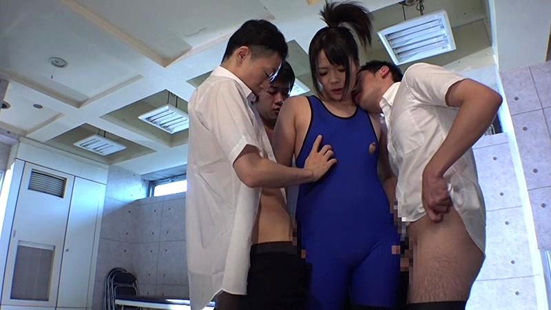 元レスリング部顧問で女体育教師の逞しい躰は男達の欲望の的。寄ってたかって犯●れてトドメは種付け中出し。 萩原奈々 画像15