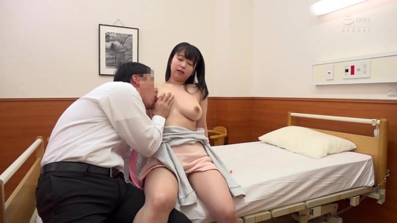ぶっかけられた巨乳看護師 赤渕蓮 3枚目