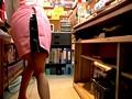 アルバイト先の本屋で上は制服、下は丸裸!!sample11