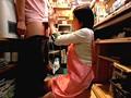 アルバイト先の本屋で上は制服、下は丸裸!!sample14