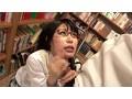 図書館で真面目にお勉強しているメガネをかけた清純女子校生...sample18