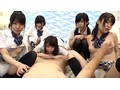 [IENE-927] ニーハイ天国!見舞いに来た同級生5人のたなぼたパンチラ