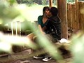 盗み撮り 人妻と青年の青姦不倫 0