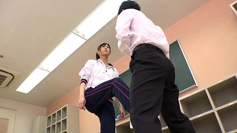 M男遊戯学園生活 神波多一花が女教師や部活の先輩になって男子をM男に調教してゆく 1枚目