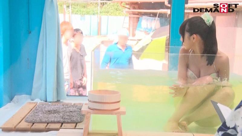のぞみ(21)女子大生 マジックミラー号 水着美女が素股マッサージで真正中出し! 画像3