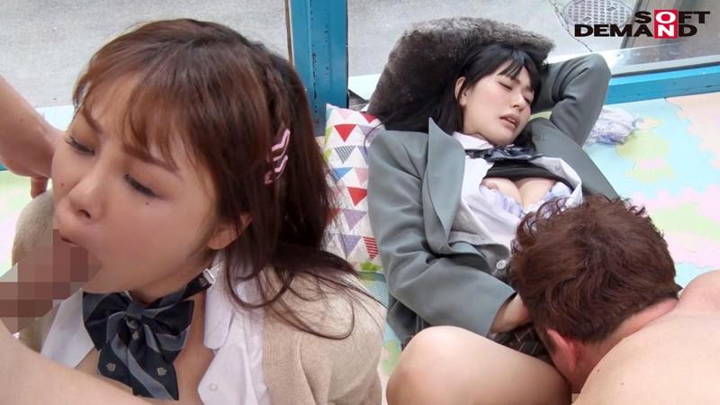 すみれちゃんとひなたちゃん マジックミラー号 修学旅行中に初4Pで初イキ! キャプチャー画像 16枚目