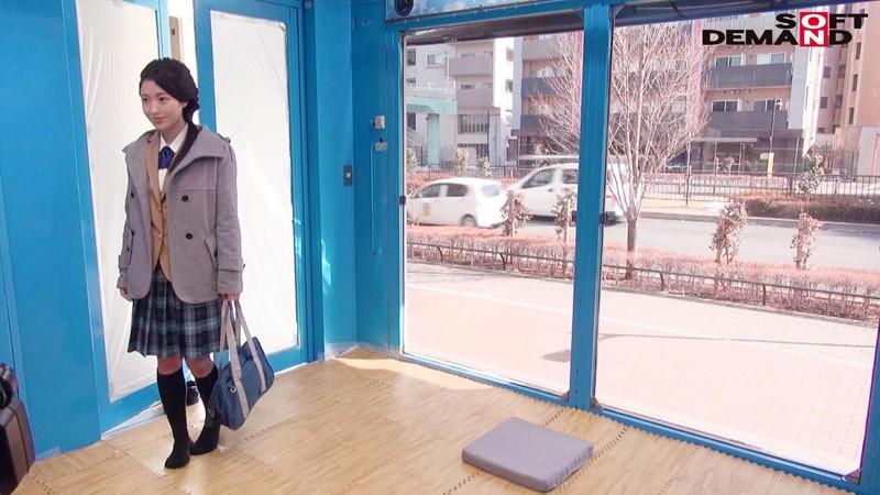えりかちゃん(18)女子○生 マジックミラー号 膣内洗浄で段々気持ちよくなってしまい、チ○コもすんなり挿入させちゃいました。 キャプチャー画像 15枚目