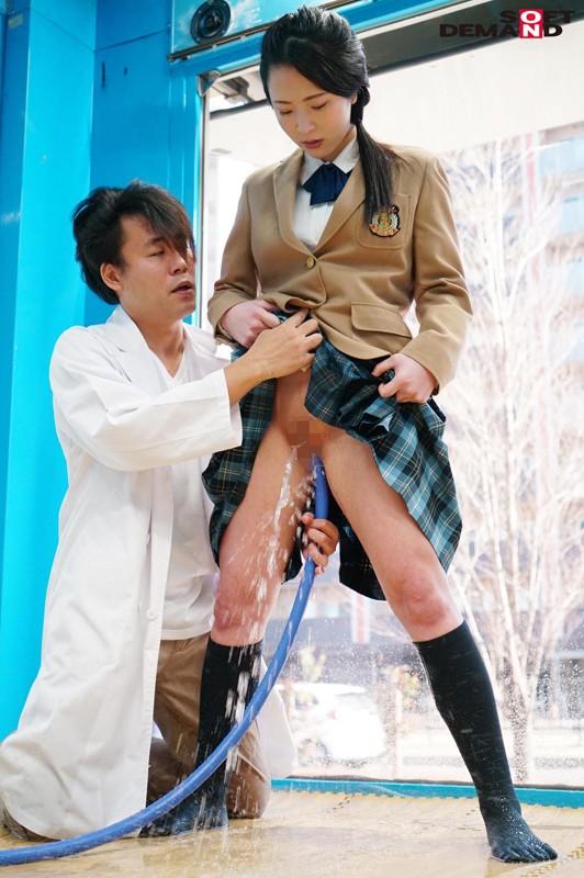 えりかちゃん(18)女子○生 マジックミラー号 膣内洗浄で段々気持ちよくなってしまい、チ○コもすんなり挿入させちゃいました。 キャプチャー画像 4枚目